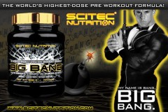 SCITEC NUTRITION BIG BANG 3.0 NEW pomeranč